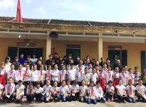 Buổi giao lưu và tình nguyện của Trung tâm sinh viên tình nguyện Hiramayama Ikuo của Trường đại học Waseda Nhật Bản tại trường tiểu học Nguyễn Trãi và trường THCS Lê Lợi
